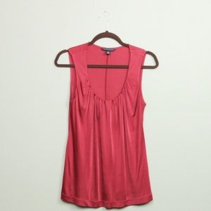 Red Banana Republic Sleeveless Silky Top